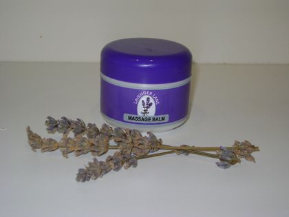 Massage/Muscle Balm - ease muscle cramps