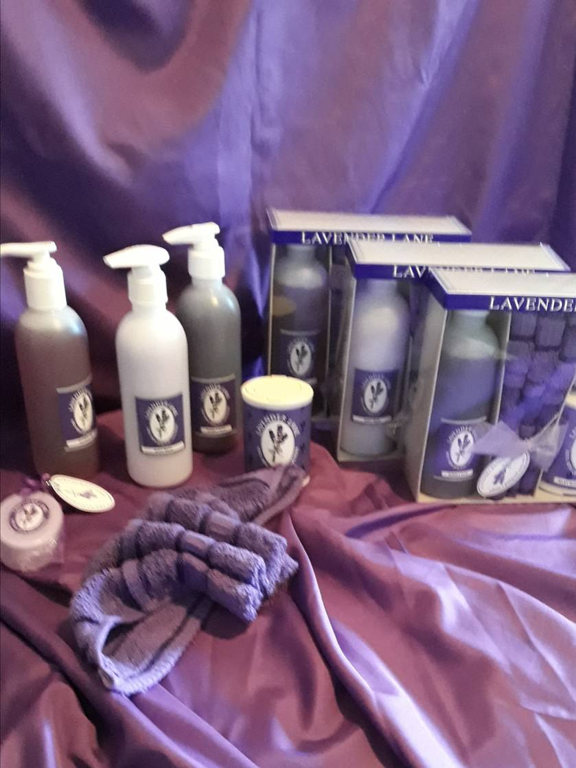 Luscious Gift Box of Delightful Lavender Products