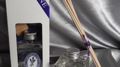 Lavender Diffuser & Reeds Gift Box