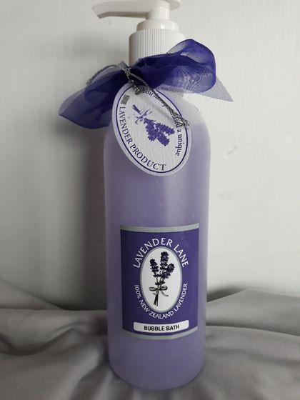 Luscious Lavender Bubble Bath