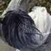Hand-dyed merino slub/chunky yarn