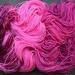 Hand-dyed 4 ply merino