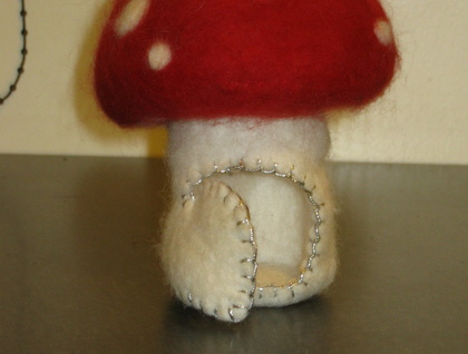 Soft & Snuggly Felt Toadstool House