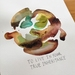 Botanical Ink Art: 'True Inheritance'