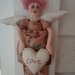 'Love' Angel cloth doll
