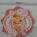Angel Doily Wall hanging #2