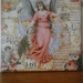 Christmas Angel Collage Canvas #1