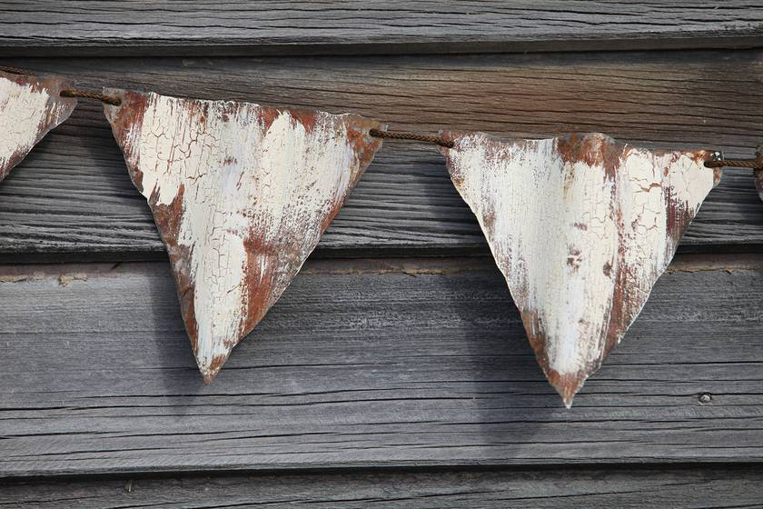 Corrugated Iron Bunting