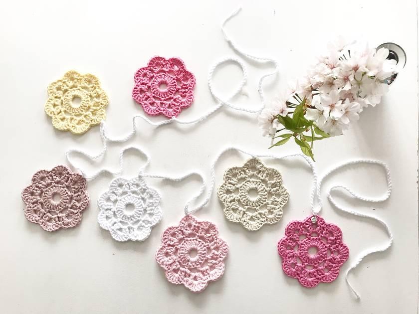 Floral Garland - Shades of Rose