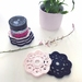Cotton Makeup Removers - Set of 8 - Midnight & Blush Pink