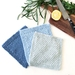 Dishcloths - Blues - Set of 3