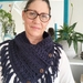 Luxury Merino Fringed Boho Cowl
