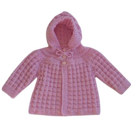 Timeless Hooded Jacket- Baby Pink