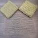 Crochet cotton dish cloth