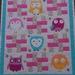 Owl Delight cot quilt
