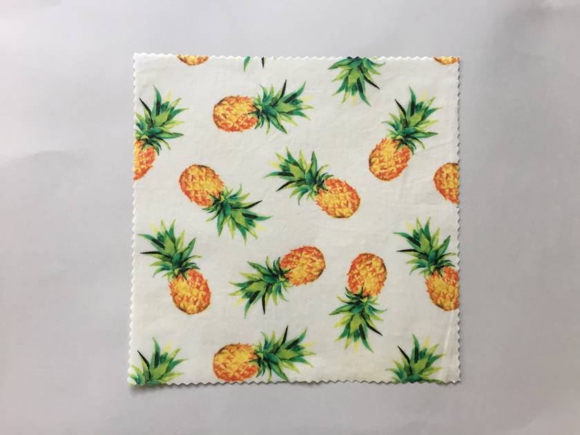 Set of 3 Reusable Food Wraps - Tropicana