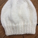 Hand Knitted NZ Merino Baby Beanie - 0-6 Months