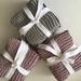 Handmade Gossypium Cotton Face Cloths - Pack Of 3