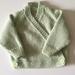 Unisex Knitted Wrap Cardigan
