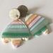 Polymer Clay - Summer Haze - Tulip Dangles - Handmade in New Zealand