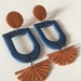Polymer Clay - No Name Dangles - Handmade in New Zealand