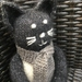 Brand New - Tux The Cat - Hand Knitted In NZ