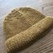 Unisex 100% Pure NZ Wool Hat - Mustard - Handmade In NZ