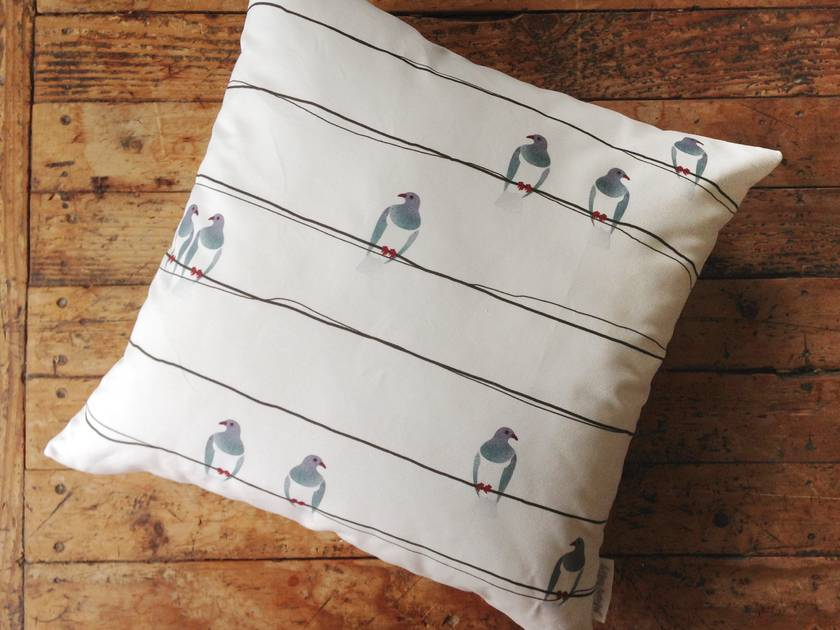 Kererū Statement Scatter Cushion Cover