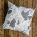Whai/Stingray & Kelp Cushion Cover