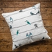 'NZ Birds on a Wire' Cushion Cover