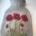 Flowers hot water bottle cover