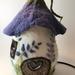 Fairy House Children's Lamp purple