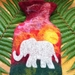 African Elephant hot water bottle cover
