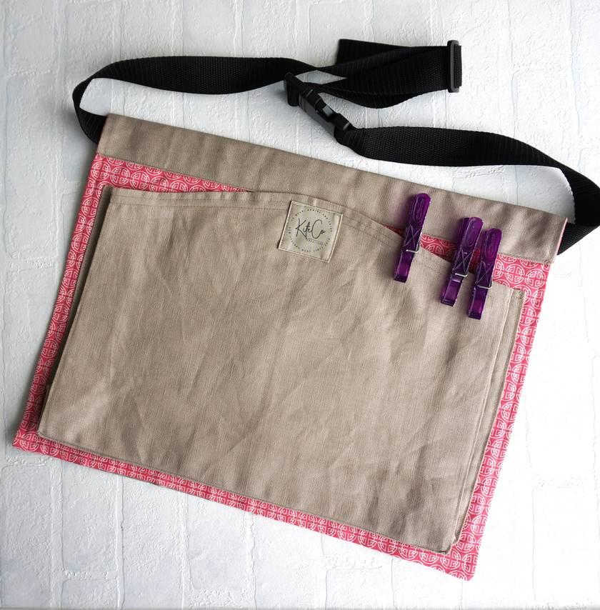 Peg apron, belt or pinny