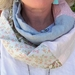 Infinity scarf - linen and cotton
