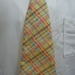 Cheeky Yellow Checkered Child Neck Tie