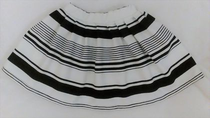 Smart Stripe Skirt - Size 3