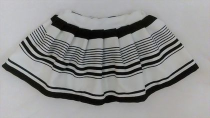Smart Stripe Skirt - Size 2