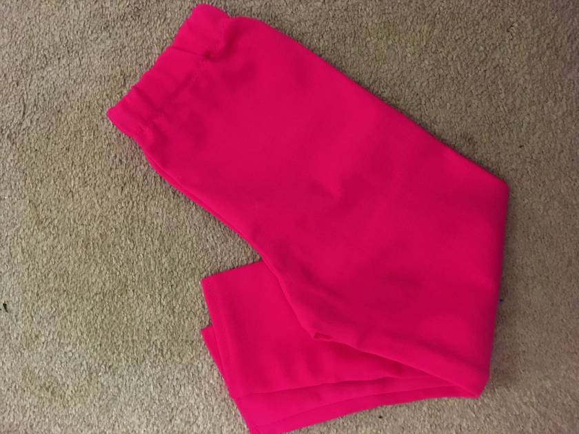 Hot Pink Winter Legging