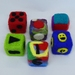 Learning Cube Toys (x3)