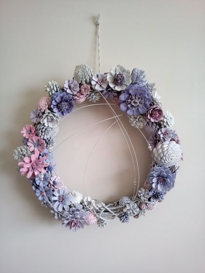 Door or Wall Winter Wreath