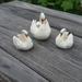 Ceramic Swan Family. Vessel / Posy Vase