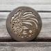 4 Gold Ceramic Coasters