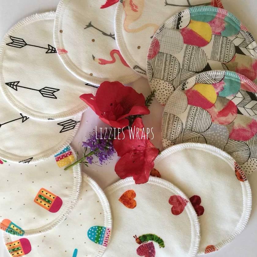 Reusable Nursing Breast Pads 1 pair