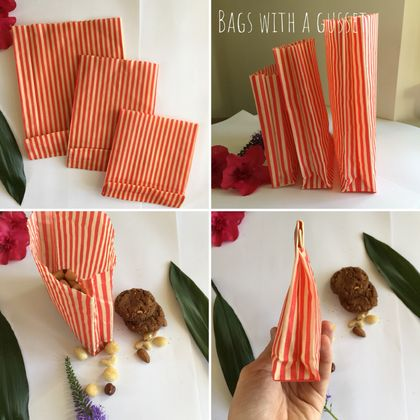 Reusable Beeswax Bags