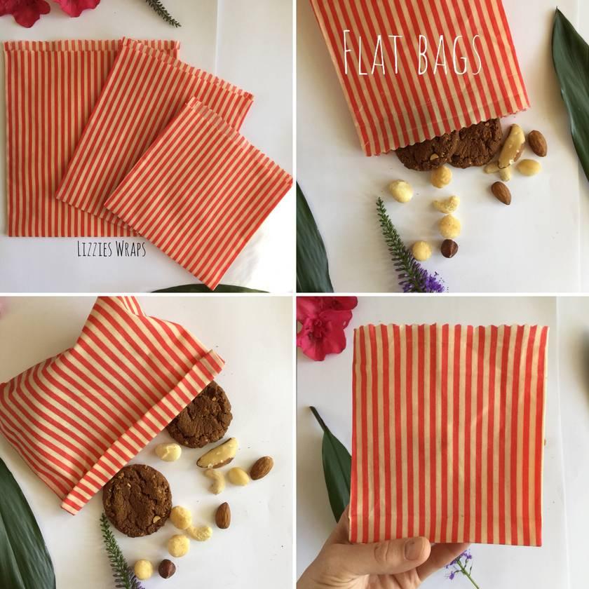 Reusable Beeswax Bags