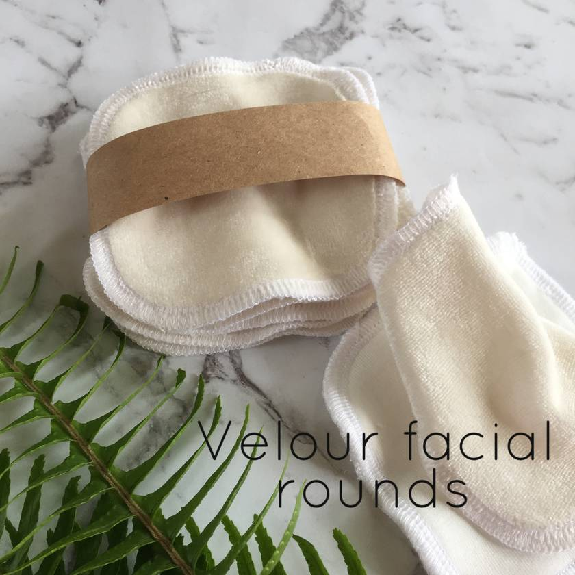 Organic Bamboo and Cotton Facial Rounds