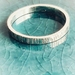 Sterling Silver Textured  Ring