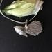 Fantail Bird on fine sterling silver snake chain