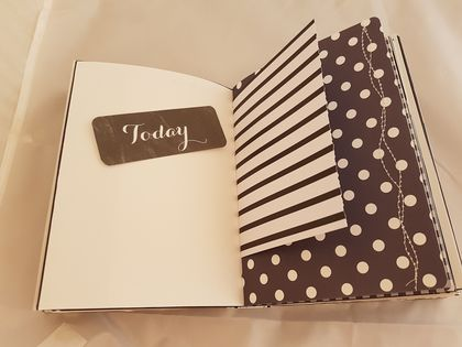 Black & white journal